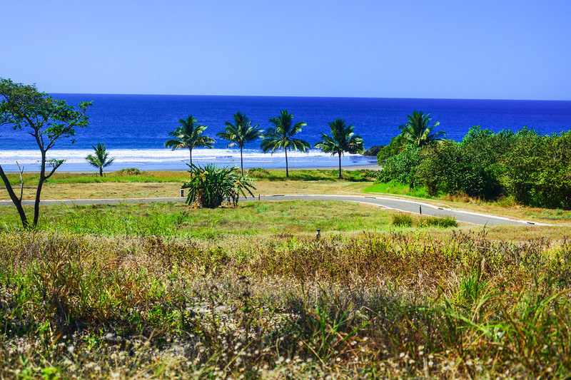 Beachfront Lot in Gated Community