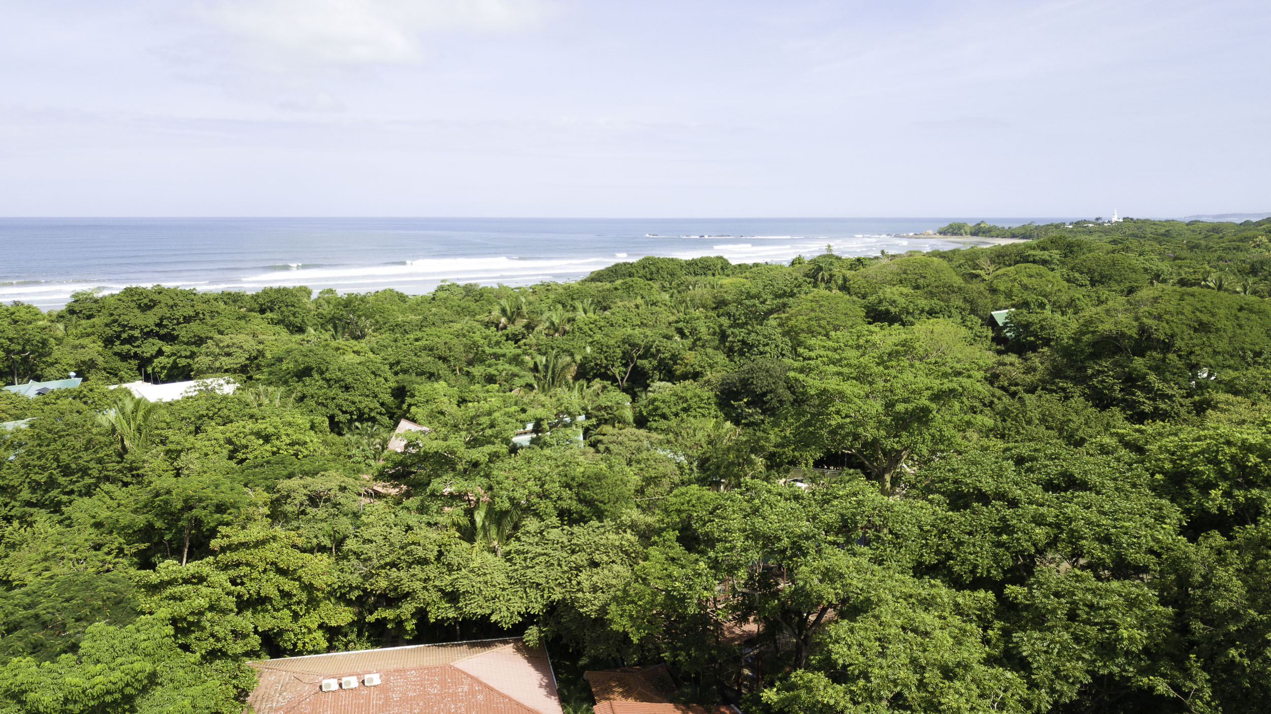 Elevated and Private Lot, Just Minutes Walk to Playa Guiones