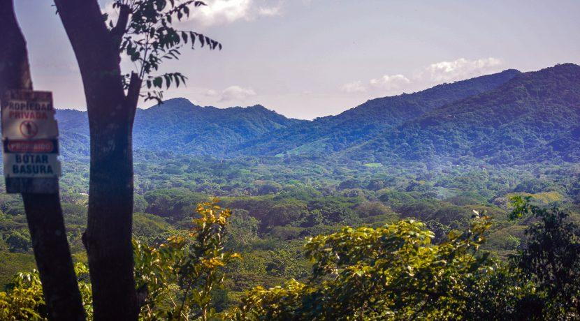Looking at San Juan Mountain from Pelada