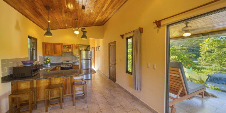 Casita #1 kitchen patio view_2500 pixels