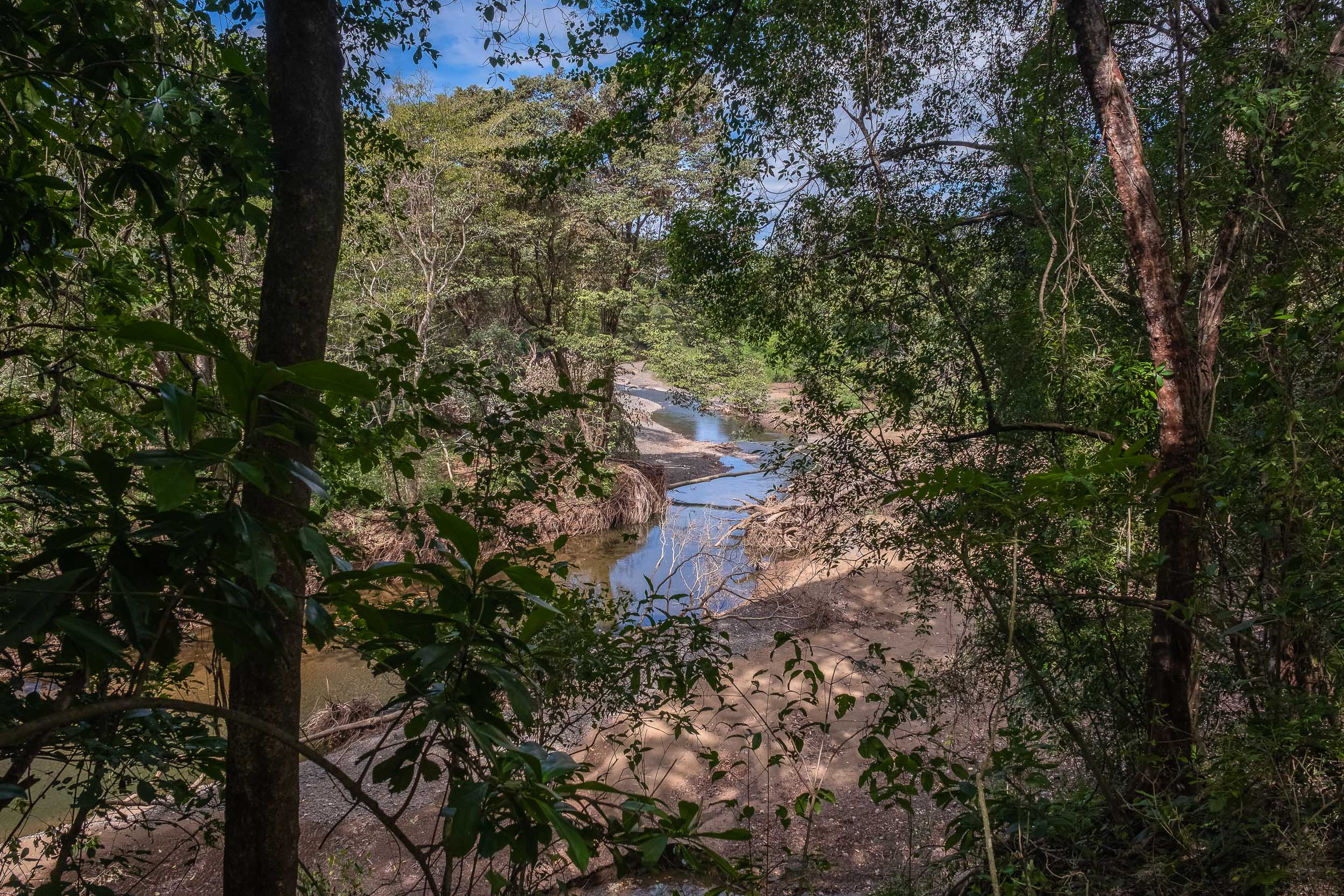 Elevated river view lot only 10 minutes to the beach